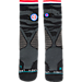 Alternate view of Men's Stance NBA Support The Troops Crew Socks in Black