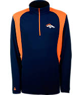 Men's Antigua Denver Broncos NFL Delta Quarter Zip Shirt