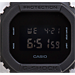Alternate view of Casio G-Shock Blackout Digital Watch in Matte Black