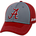 Front view of Top Of The World Alabama Crimson Tide College Dynamic Flex Fit Hat in Team Colors