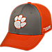 Front view of Top Of The World Clemson Tigers College Dynamic Flex Fit Hat in Team Colors