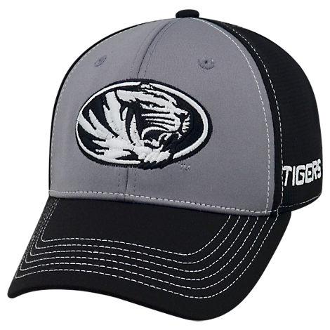 Top Of The World Missouri Tigers College Dynamic Flex Fit Hat