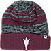 Front view of Top of the World Arizona State Sun Devils College Echo Knit Hat in Team Colors