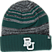 Front view of Top of the World Baylor Bears College Echo Knit Hat in Team Colors