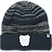 Front view of Top of the World Butler Bulldogs College Echo Knit Hat in Team Colors
