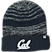 Front view of Top of the World Cal Golden Bears College Echo Knit Hat in Team Colors