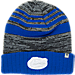 Front view of Top of the World Florida Gators College Echo Knit Hat in Team Colors