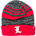 Front view of Top of the World Louisville Cardinals College Echo Knit Hat in Team Colors