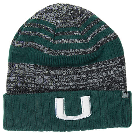 Top of the World Miami Hurricanes College Echo Knit Hat