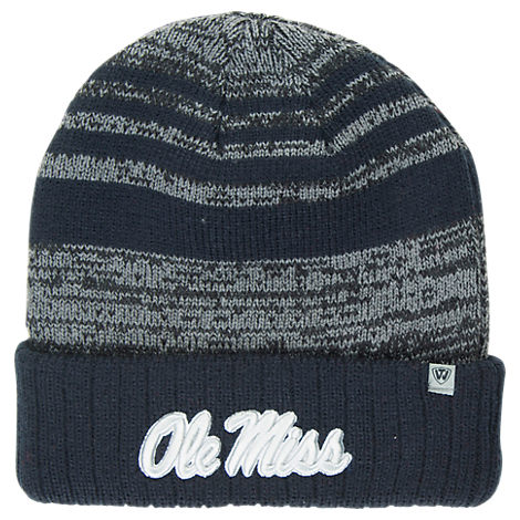 Top of the World Mississippi Rebels College Echo Knit Hat
