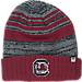 Front view of Top of the World South Carolina Gamecocks College Echo Knit Hat in Team Colors