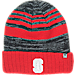 Front view of Top of the World Stanford Cardinals College Echo Knit Hat in Team Colors