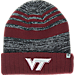 Front view of Top of the World Virginia Cavaliers College Echo Knit Hat in Team Colors