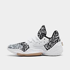 아디다스 Adidas Mens 아디다스 Adidas Harden Vol 4 Basketball Shoes,Footwear White/Core Black/St Pale Nude
