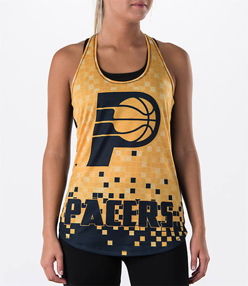 Women's College Concepts Indiana Pacers NBA Sublimated Tank