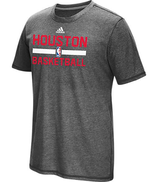 Men's adidas Houston Rockets NBA Aeroknit On-Court T-Shirt