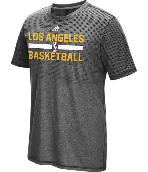Men's adidas Los Angeles Lakers NBA Aeroknit On-Court T-Shirt