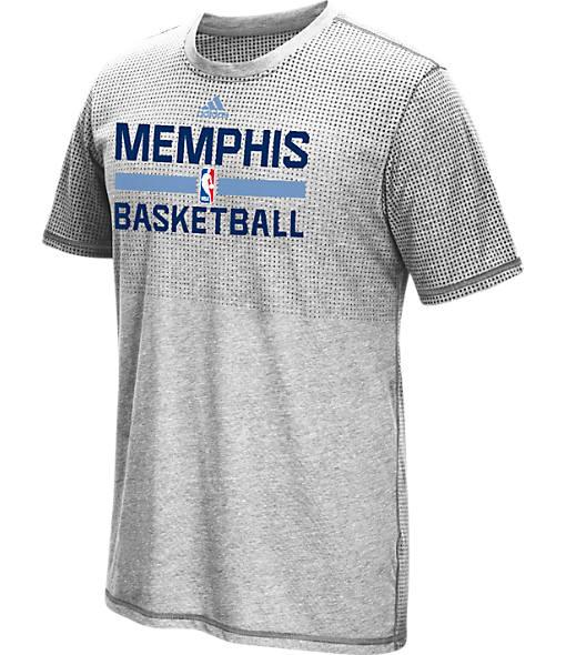Men's adidas Memphis Grizzlies NBA Aeroknit On-Court T-Shirt