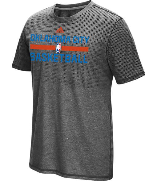Men's adidas Oklahoma City Thunder NBA Aeroknit On-Court T-Shirt
