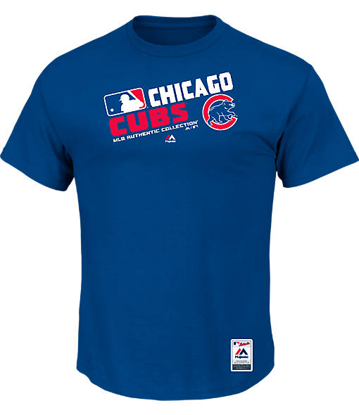 Men's Majestic Chicago Cubs MLB On Field T-Shirt