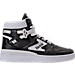 Right view of Men's Etonic The Dream 1 Casual Shoes in Black/White
