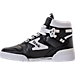 Left view of Men's Etonic The Dream 1 Casual Shoes in Black/White