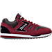 Right view of Men's Etonic Trans AM Mesh Casual Shoes in Red/Grey/White/Black