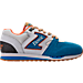Right view of Men's Etonic Trans AM Perf Casual Shoes in Teal/White/Orange
