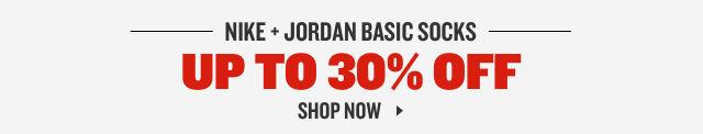 Nike and Jordan Socks Up To 30% Off