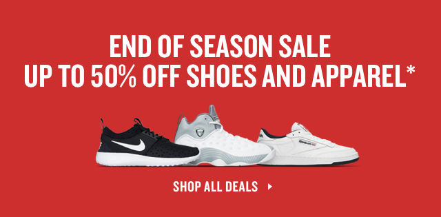 End of Season Sale. Up To 50% Off. Shop Now.