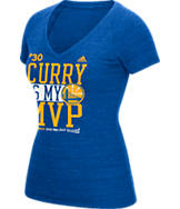 Women's adidas Golden State Warriors NBA Stephen Curry MVP Knockout T-Shirt
