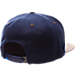 Back view of Zephyr Kentucky Wildcats College Executive Snapback Hat in Team Colors/Grey