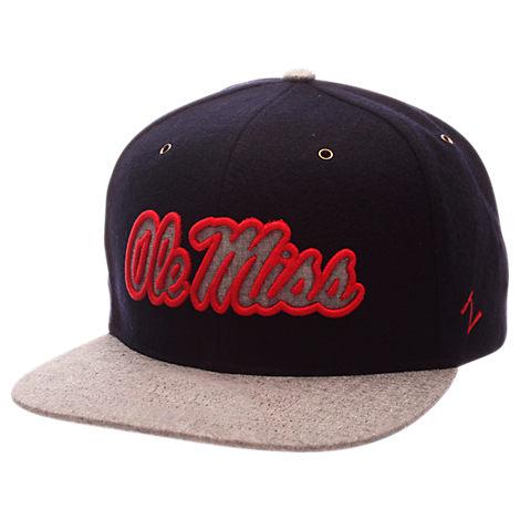 Zephyr Mississippi Rebels College Executive Snapback Hat