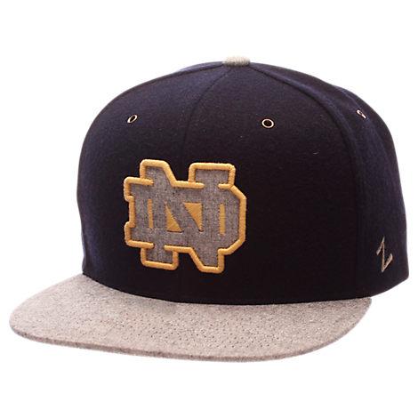 Zephyr Notre Dame Fighting Irish College Executive Snapback Hat