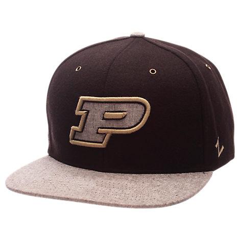 Zephyr Purdue Boilermakers College Executive Snapback Hat