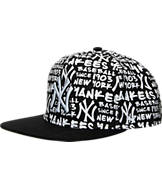 New Era New York Yankees MLB Fat Cap Snapback Hat