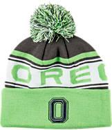 Zephyr Oregon Ducks College Finished Cuffed Pom Hat
