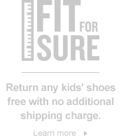 Kids' Fit 4 Sure. Learn More.