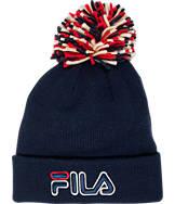 Fila Cuffed Pom Beanie Hat