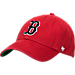 Front view of '47 Boston Red Sox MLB Franchise Cap in Red