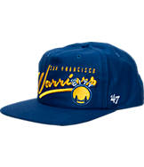 New Era Golden State Warriors NBA Freehand Snapback Hat