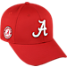 Front view of Top of the World Alabama Crimson Tide College Fresh Adjustable Cap in Team Colors