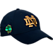 Front view of Top of the World Notre Dame Fighting Irish College Fresh Adjustable Cap in Team Colors