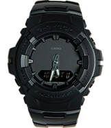 Casio G-Shock Blackout Resin G100 Watch
