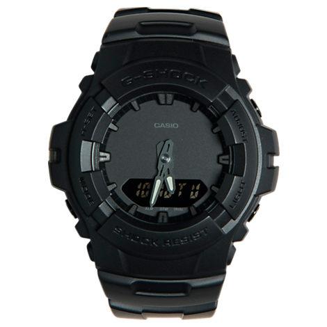 Casio G-Shock Blackout Resin G100 Watch