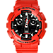 Front view of Men's Casio G-Shock XL Digital Watch in Red
