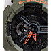 Alternate view of Casio G-Shock Neon Digital Watch in Green/Neon Orange