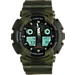 Front view of Casio G-Shock Marble Watch in Army Green
