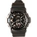 Back view of Men's Casio G-Shock XL Digital Watch in Black/silver/red
