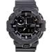 Front view of Casio G-Shock Utility Watch in Dark Grey
